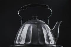 减速火箭的茶壶 库存照片