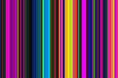 减速火箭的荧光的多彩多姿的五颜六色的无缝的条纹样式 抽象背景例证 时髦的现代趋向颜色 库存例证