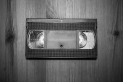 减速火箭的葡萄酒存贮录象带磁带vhs关闭 免版税库存照片