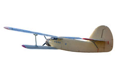 减速火箭的葡萄酒飞机 库存图片