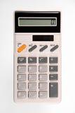 减速火箭的计算器 免版税库存图片