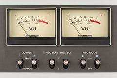 减速火箭的音频显示 库存照片