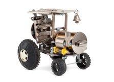 减速火箭的steampunk汽车 库存图片