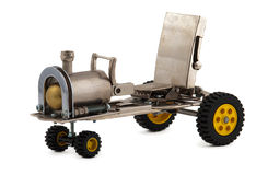 减速火箭的steampunk汽车 图库摄影