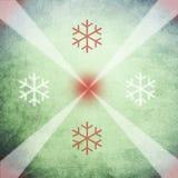 减速火箭背景的圣诞节 免版税库存图片