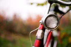 减速火箭自行车的详细资料 免版税库存图片