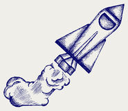 减速火箭 免版税图库摄影
