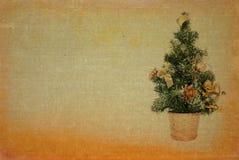 减速火箭2个背景的圣诞节 库存图片