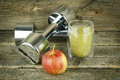 减重、体育和饮食的概念 免版税库存照片