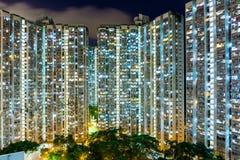 紧凑生活在香港 免版税库存照片