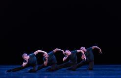 凝思古典芭蕾` Austen汇集` 库存照片