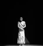 凝思差事到迷宫现代舞蹈舞蹈动作设计者玛莎・葛兰姆里 图库摄影