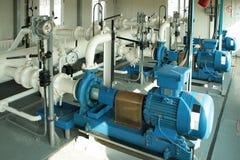 凝析油气泵抽 图库摄影