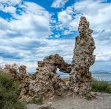 凝灰岩`莫诺湖s  库存照片