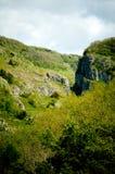 凝结峡谷 库存图片
