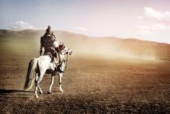 凝视战士军队概念人群的孤立人  免版税图库摄影