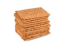 几个坚硬饼干 免版税库存照片