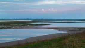 几个湖风景  库存图片