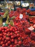 几个蕃茄类型 免版税库存照片