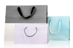 几个购物袋。 免版税库存图片