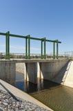 水转换运河 库存图片