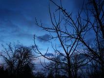 几乎天空蔚蓝 库存图片