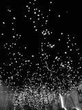 几乎象在天空的星 库存照片