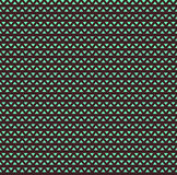 几何三角无缝的传染媒介样式褐色和绿色 库存例证