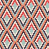 几何之字形传染媒介样式 种族无缝的装饰品 抽象背景-五颜六色的线 也corel凹道例证向量 皇族释放例证