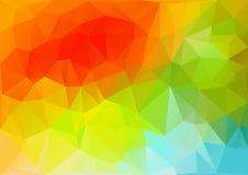 几何五颜六色的样式 向量例证