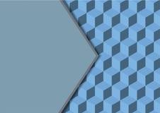 几何传染媒介摘要背景无缝的立方体 库存图片