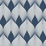 几何传染媒介样式 简单的时尚织品印刷品 重复瓦片纹理的传染媒介 屋顶盖瓦或鱼鳞形状主题 图库摄影