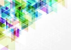 几何传染媒介摘要背景图形设计例证 免版税图库摄影