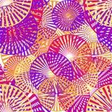 几何元素的无缝的样式 向量例证