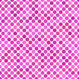 几何光点图形背景-桃红色重复的设计 向量例证