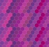 几何六角形背景 免版税图库摄影