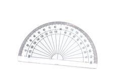 几何分度器 库存图片