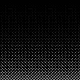 几何半音椭圆样式背景-从对角省略小点的黑暗的图表 库存例证