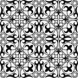 几何哈萨克人装饰品 库存例证