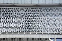几何墙壁模式 马来西亚a的全国清真寺 K Masjid Negara 免版税库存图片
