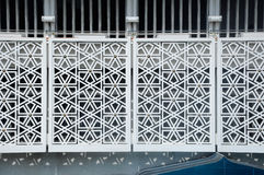 几何墙壁模式 马来西亚a的全国清真寺 K Masjid Negara 图库摄影