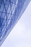 几何大厦的详细资料 库存照片