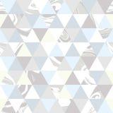 几何大理石无缝的样式 免版税库存照片
