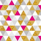 几何大理石无缝的样式 免版税库存图片