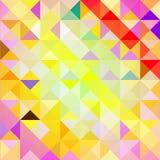 几何形状的样式 三角 纹理 向量例证