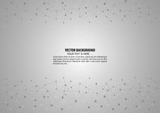 几何抽象传染媒介背景 免版税图库摄影