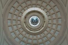 几何抽象天花板 库存图片