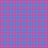 几何抽象现代样式正方形 蓝色,桃红色,酒 免版税库存图片