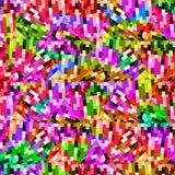 几何抽象生动的背景 免版税库存照片