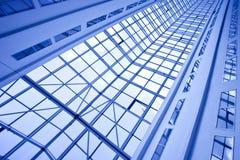 几何抽象的建筑 免版税图库摄影
